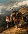 Théodore Géricault - Garçon donnant l'avoine à un cheval dételé.jpg