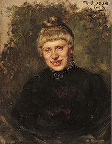 Thérèse Schwartze - Portrait of Wally Moes - 1884.jpg