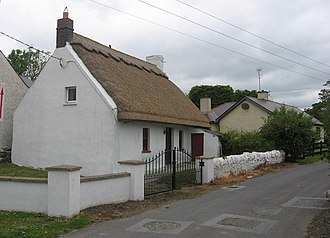 Baltray - Restored thatched cottage
