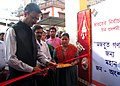 The Chief Electoral Officer, Tripura, Shri Ashutosh Jindal inaugurating the photo exhibition on voter's awareness on elections, organised by DAVP, at Agartala, Tripura on March 18, 2014.jpg