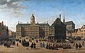 The Dam in Amsterdam, by Gerrit Adriaensz Berckheyde.jpg