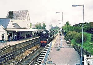 Salisbury and Yeovil Railway - Gillingham station