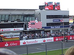 The F1 podium at Silverstone 2007 - geograph.org.uk - 1158078.jpg