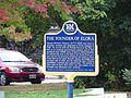The Founder of Elora Historical Marker, Elora, Ontario (21813622046).jpg