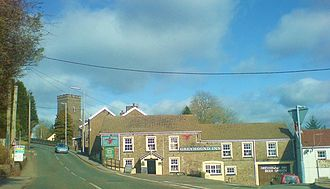 Llannon - Llannon village