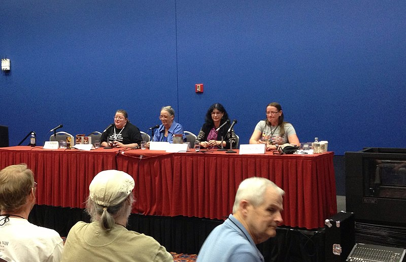 File:The How to Write Combat Scenes Panel at Worldcon -lonestarcon (9637824981).jpg