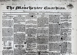 The Guardian - Manchester Guardian Prospectus, 1821