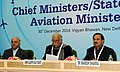 The Minister of State for Culture (Independent Charge), Tourism (Independent Charge) and Civil Aviation, Dr. Mahesh Sharma addressing at the meeting of CMs LGs.jpg