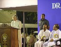 The President,Dr A P J Abdul Kalam addressing the students of the Loyola Institute of Business Administration, Chennai during on interactive session on 1st December 2005.jpg