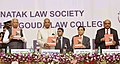 The President, Shri Ram Nath Kovind at the Platinum Jubilee Celebration of Karnataka Law Society & Raja Lakhamgouda Law College, at Belagavi, in Karnataka.JPG
