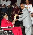 The President, Shri Ram Nath Kovind presenting the Padma Bhushan Award to Dr. Philipose Mar Chrysostom, at the Civil Investiture Ceremony, at Rashtrapati Bhavan, in New Delhi on March 20, 2018.jpg