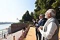 The Prime Minister, Shri Narendra Modi and the Prime Minister of Israel, Mr. Benjamin Netanyahu experience Kite Flying, at Ahmedabad, Gujarat on January 17, 2018 (1).jpg