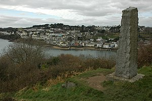 Arthur Quiller-Couch - Sir Arthur T. Quiller-Couch Monument, Fowey