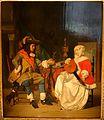 The Tête-à-Tête, A Lady Playing a Lute, and a Cavalier, by Gabriël Metsu, c. 1662-1665, oil on panel - Waddesdon Manor - Buckinghamshire, England - DSC07698.jpg