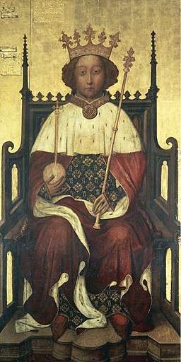 The Westminster Portrait of Richard II of England (1390s)
