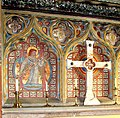 The church of All Saints in Shouldham - tiled reredos (detail) - geograph.org.uk - 1738515.jpg