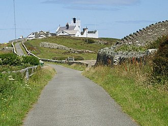 Gadfa - Image: The final furlong to the Point Lynas lighthouse geograph.org.uk 1409850