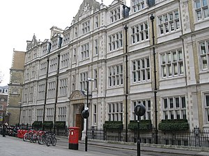 Intellectual Property Office (United Kingdom) - The former Patent Office headquarters in Southampton Buildings, London WC2.