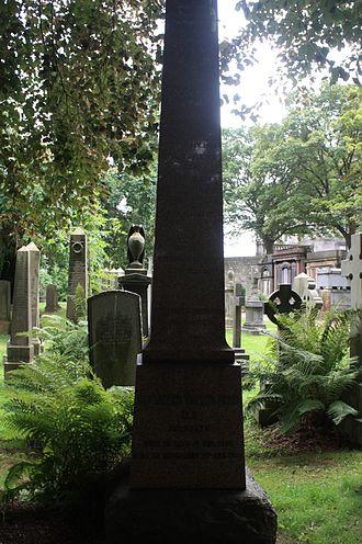 Alexander Taylor Innes - The grave of Alexander Taylor Innes, Dean Cemetery