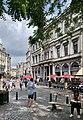 The intersection of Rue de la Montagne with Rue du Marché Aux Herbes, in Bruxelles (Belgium).jpg