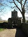 The lych gate of Eglwys y Santes Fair, Llanfairynghornwy - geograph.org.uk - 1234243.jpg