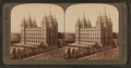 The pride of the Mormons, the Temple, Salt Lake City, Utah, from Robert N. Dennis collection of stereoscopic views.png