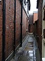 The shuts and passages of Shrewsbury, Bowdler's Passage - geograph.org.uk - 1714379.jpg