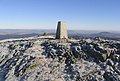 The trig point at 656m on Millfore in The Galloway Hills - geograph.org.uk - 235021.jpg