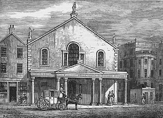 Romanticism in Scotland - The Theatre Royal, Edinburgh, as it was from 1769–1830