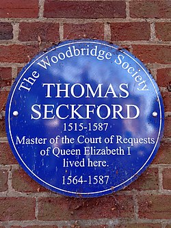 Thomas seckford (woodbridge society)