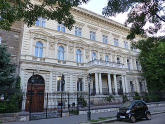 Zoltán Tildy - Tildy palace - Andrássy avenue 96