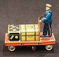 Tin toy suitcase trolley, pic1.JPG