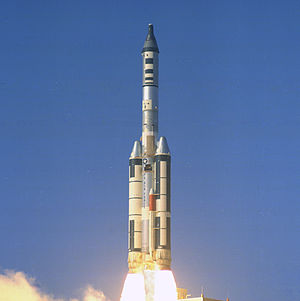 OPS 0855 - Launch of OPS 0855 with OV4-1, OV1-6 and Gemini B