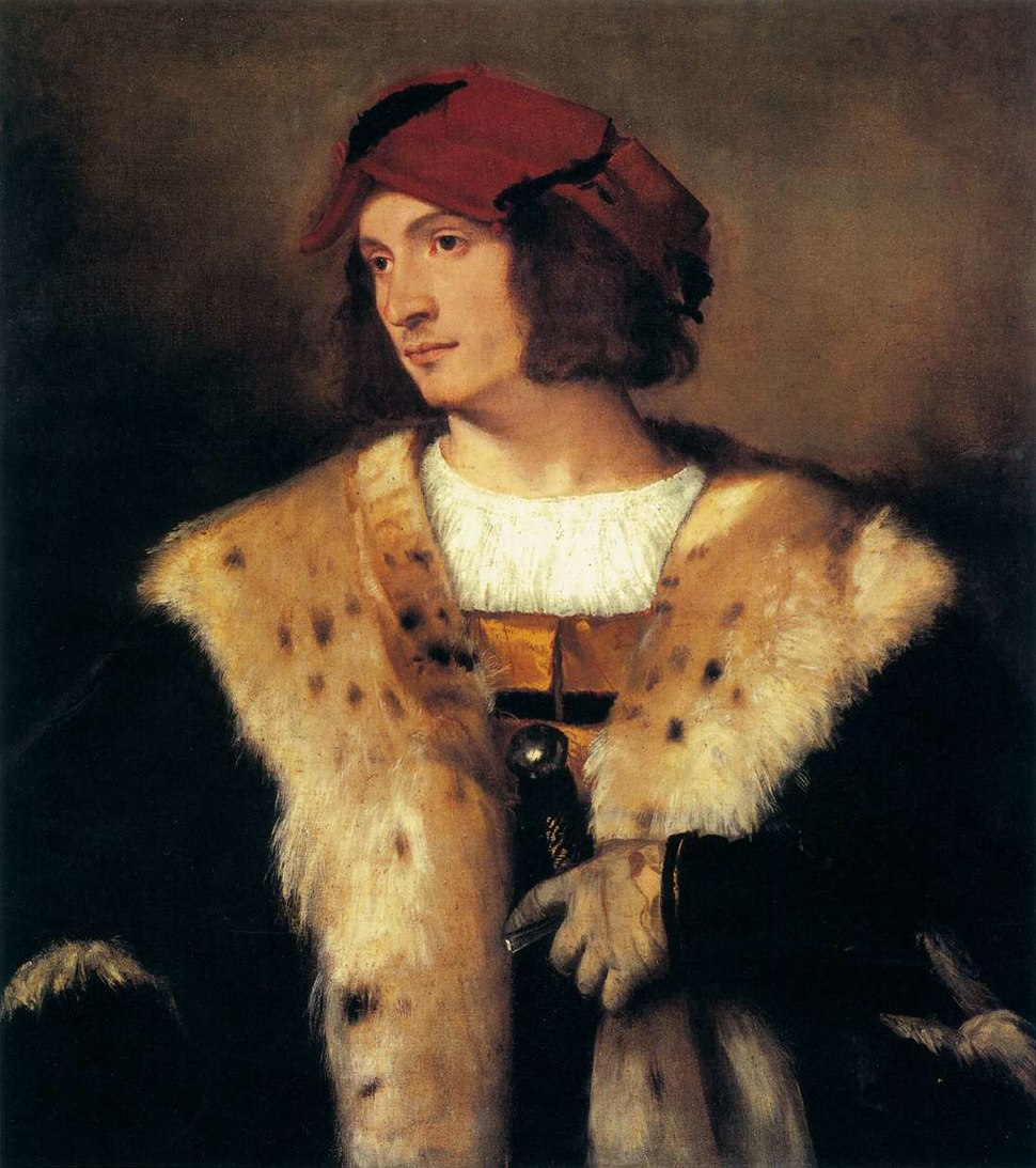 Titian - Portrait of a Man in a Red Cap - WGA22937
