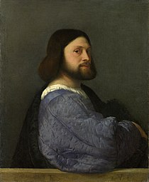 Titian, A Man with a Quilted Sleeve, long believed to be Ludovico Ariosto (Source: Wikimedia)