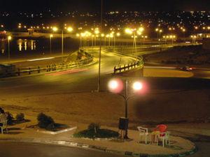 Tobruk by night