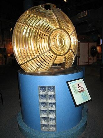 Imagination Station - Image: Toledo Harbor Lighthouse Fresnel lens