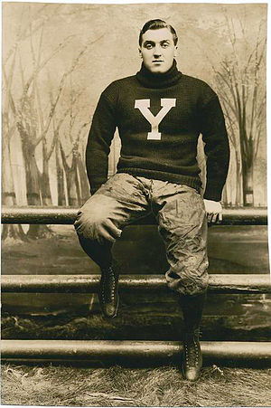 1902 College Football All-America Team - Tom Shevlin of Yale.