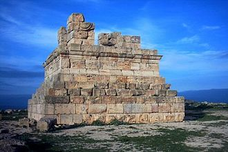 Numidia - The Numidian mauseoleum of El-Khroub