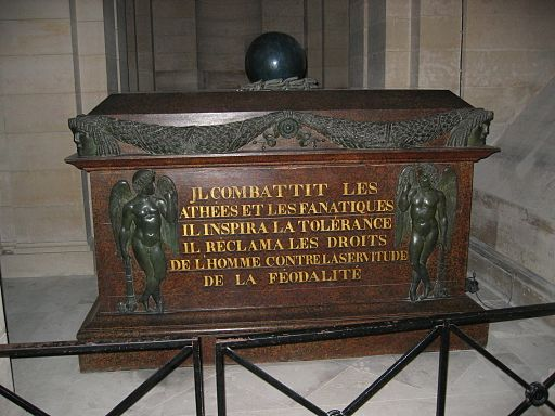 Tomb of Voltaire in the Pantheon