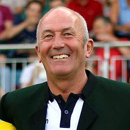 Tony Pulis served as the club's manager from 1995 until 1999 Tony pulis 2014.jpg