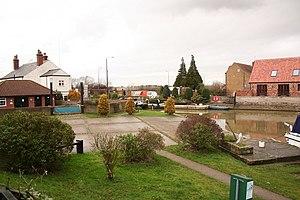 Torksey - Image: Torksey Lock slipway geograph.org.uk 663246