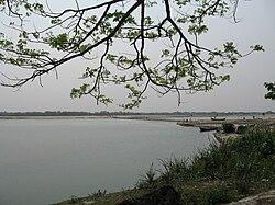 কোচবিহার শহরের কাছে তোর্ষা নদী