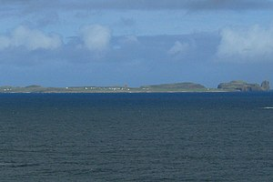Tory Island - Toraigh from the mainland