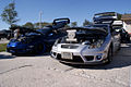 Toyota Celicas 2003 LSideFront TBS 09Feb2014 (14399908707).jpg