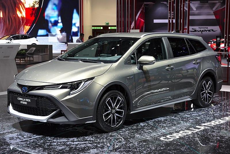 Fichier:Toyota Corolla Trek Hybrid Genf 2019 1Y7A5587.jpg