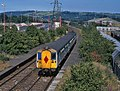 Train at Ballymacarrett Halt - 2000.jpg
