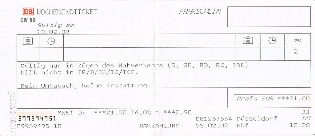 Db.de bayernticket single