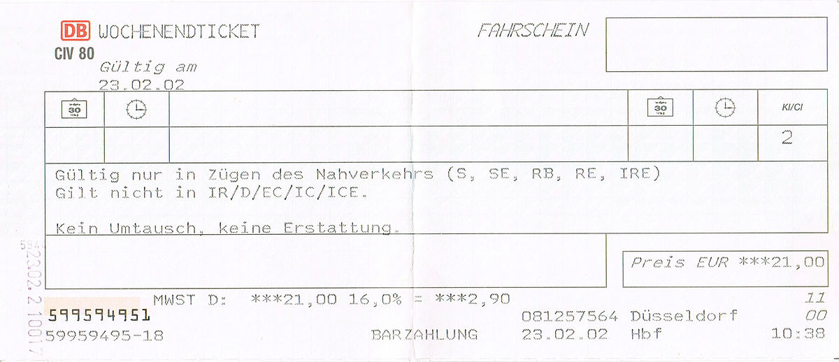 Single bayernticket deutsche bahn