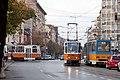 Tram in Sofia near Macedonia place 2012 PD 077.jpg